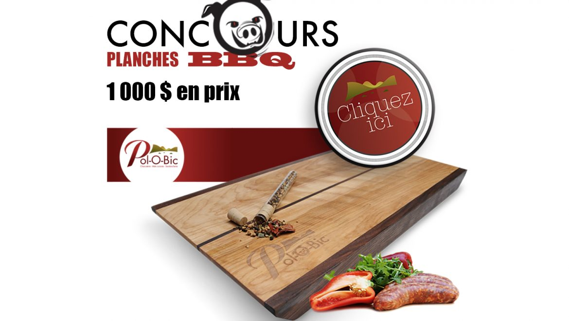 Gagnants concours « Planches BBQ »
