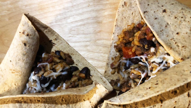 Burrito au saucisson Le Forestier