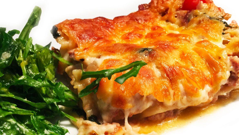 Lasagne saucisses italiennes douces